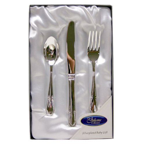 Silver Plated Cutlery Set - New Baby Christening Gift for Boy or Girl (6305NT)  sc 1 st  Silver Cutlery Sets & Plated Cutlery Set - New Baby Christening Gift for Boy or Girl (6305NT)