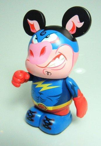 Vinylmation Zooper Heroes 3 inch Figure Pig - 1