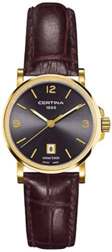 Certina Ladies 'Watch XS Analog Quartz Leather c017.210.36.087.00