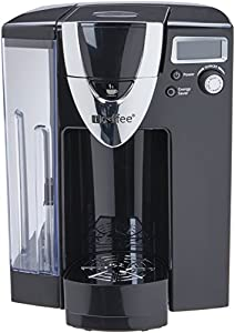 iCoffee RSS500-MOZ 72 oz Mozart Single Serve Coffee Brewer with Spin Brew Technology, Large, Black by iCoffee
