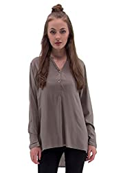 Raindrops Women's Top(1187C004F-Green-M)