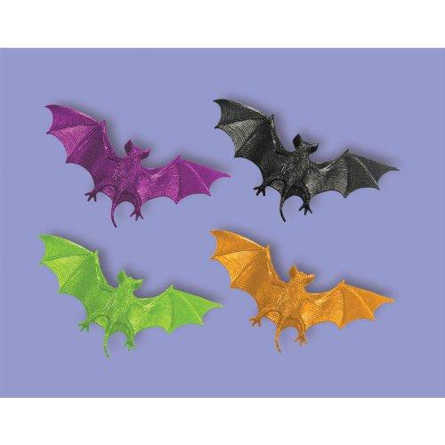 Halloween Neon Bats party Favours x 12