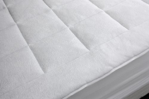 Rio Home Fashions Overfilled Super Soft Microplush King Mattress Pad front-537100