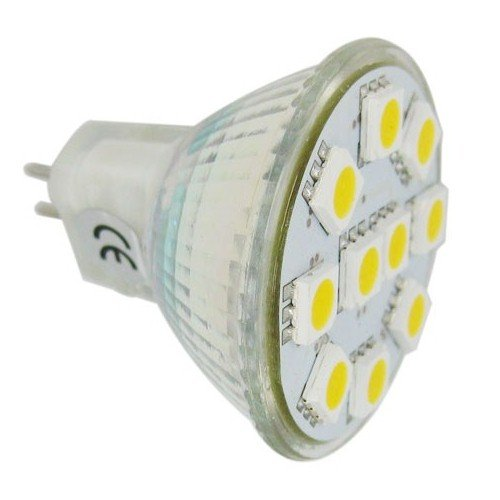 Lighting Ever Brightest Mr11 Led Light Bulbs, Gu4.0 Base, 165Lm, Flood Beam, Warm White