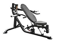 Powertec Fitness Workbench Multi Press with Isolateral Arm, Black
