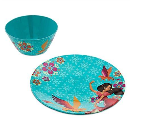 Disney Store Elena of Avalor Plate and Bowl Set