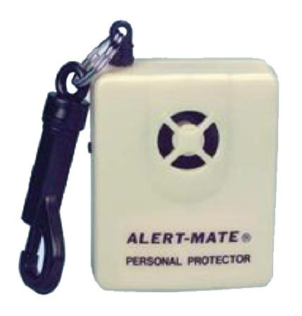 Alert Mate Protection Alarm 130 Db Sonic Abs Plastic Housing Requires One 9V Battery