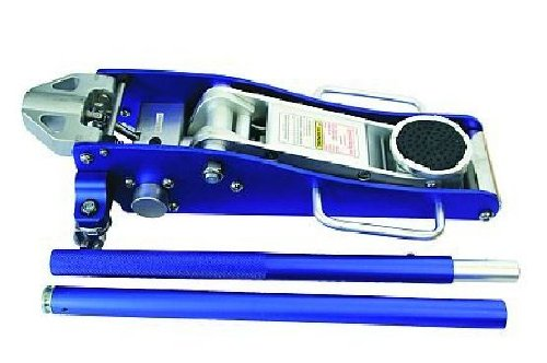 Alu Rangier Wagenheber 1,25 T blau