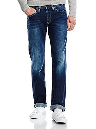 Pepe Jeans London Vaquero Kingston Zip (Azul)