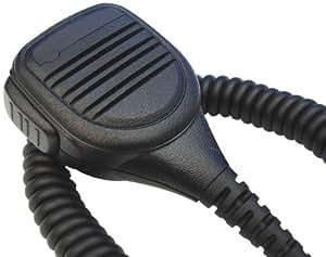 Speaker Mic for MOTOROLA HT1000, JT1000, MT2000, GP900, GP9000, MTS2000, MT6000, MTX838, MTX900, MTX1000, MTX8000, MTX9000, MTX-LS, XTS2000, MTX2500, XTS3000, XTS3500, XTS5000, XTS5100, XTS7700, JEDI UHF VHF RADIO, Lapel Shoulder Mic