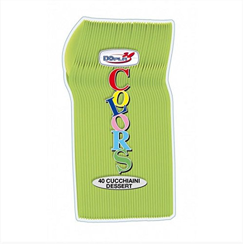 Cucchiaini Verde Acido Pz.40