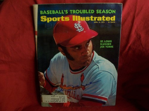 Joe Torre Autographed / Signed Sports Illustrated Magazine, St. Louis Cardinals, Proof Photo at Amazon.com