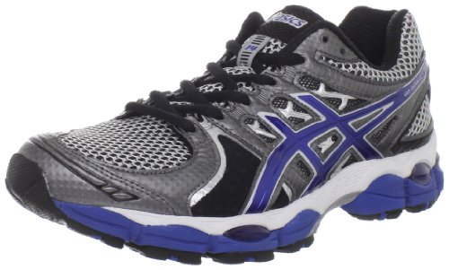ASICS ASICS Men's GEL-Nimbus 14 Running Shoe,Lightning/Royal/Black,9.5 M US
