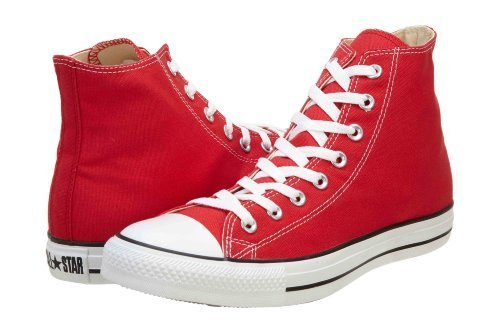 Converse Chuck Taylor Hi Top Red Shoes M9621 Mens 6