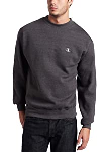 Champion Eco Fleece Crew, Granite Heather, Large