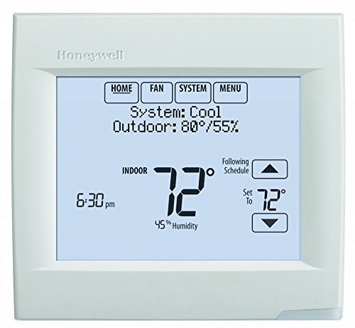 Honeywell TH8321WF1001 Wifi Vision Pro 8000 with Stages upto 3 Heat / 2 Cool (2 Pack) (Honeywell 7 Day Wifi compare prices)