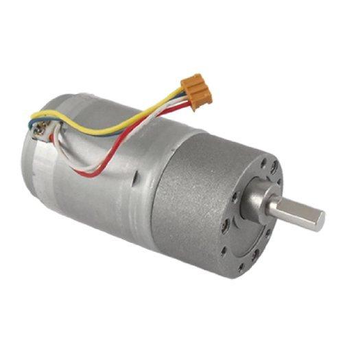 Water & Wood Electrical Machine 1000Rpm 24V 0.15A Dc Geared Motor