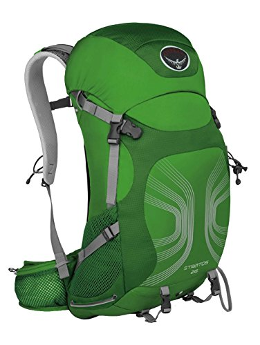 B00E0ETRD8 Osprey Packs Stratos 26 Backpack, Pine Green, Small/Medium