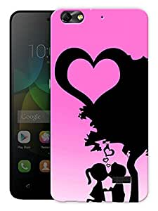 """Humor Gang Love Is In The Air Printed Designer Mobile Back Cover For """"Huawei Honor 4C"""" (3D, Matte, Premium Quality Snap On Case)"""