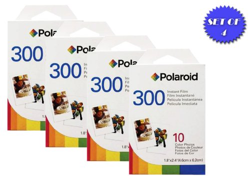Polaroid-PIF-300-Instant-Film-for-300-Series-Cameras-4-Packs-10-Prints-Each