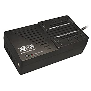 TRIPP LITE AVR700UXRM 700VA 350W UPS Desktop Extended Runtime Battery Back Up with AVR 120V USB Muted Alarm