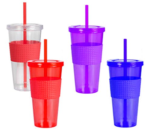 Drink Cup With Straw front-398895