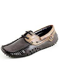 Faces Chris Brown Mens Casual Moccasin Brown - Tan Loafers