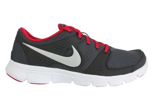 Nike Nike Men's NIKE FLEX EXPERIENCE RN RUNNING SHOES 7.5 Men US (ANTHRCT/MTLLC SLVR/GYM RED/BLK)