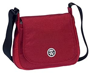 Crumpler THE STATUS BELLY Messenger Bag (Dark Red/Red)