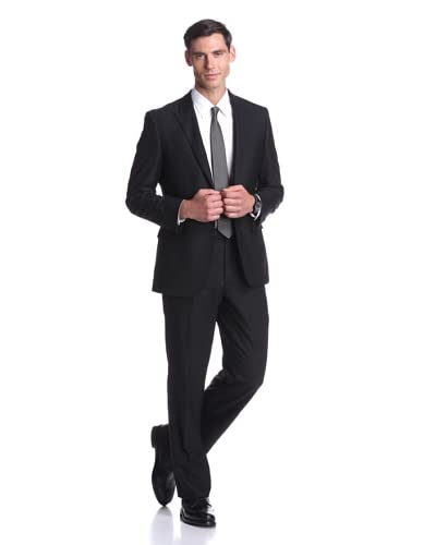 Nicole Miller Men's Tonal Stripe Suit