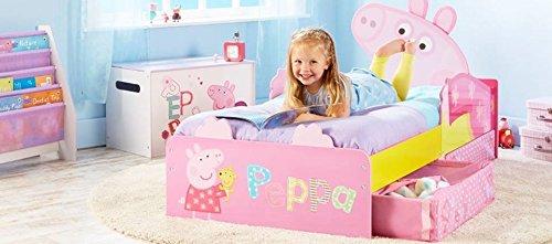 Chambre complète Peppa Pig. Avec Matelas (140cms x 70cm + oreiller