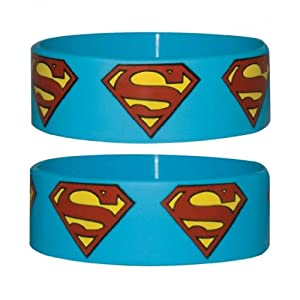 Bracelet en silicone DC Comics : Superman Sous Licence Officielle