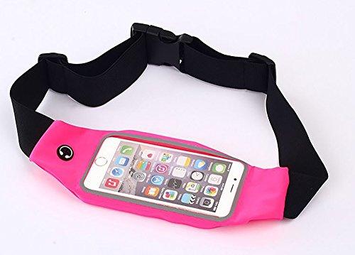 bevej Laufgürtel für Smartphone Schlüssel Hüfttasche, Sport-Bauchtasche, Jogging Fitness Gürtel Iphone 5 6 6s, Samsung Galaxy