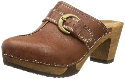 Woody Womens Christina Clogs And Mules Brown Braun (Ruvido Orlando) Size: 38
