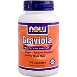 Now Foods Flacon de 100 capsules de graviola