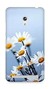 Amez designer printed 3d premium high quality back case cover for Asus Zenfone 6 (daisy flowers)