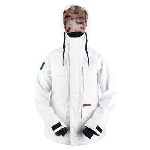 KELLAN(ケラン) CLARA スノーボードウェア レディース ジャケット ホワイト 610704-S ホワイト S