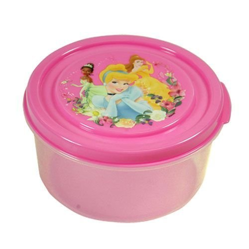 Disney Princess Pink Snack N Store Food Storage Container