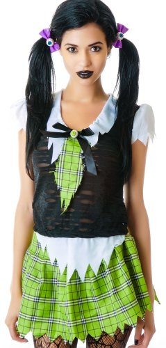 Lip Service Women's Brain Dead Zombie School Girl Costume