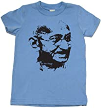 Mahatma Gandhi Be The Change on Short Sleeve Boy Toddler Fine Jersey T-shirt