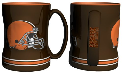 Cleveland Browns Nfl Coffee Mug - 15Oz Sculpted