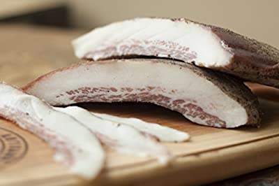 Guanciale ( dry cured pork jowls)