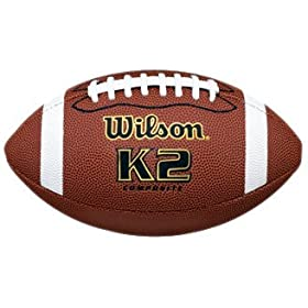<b>K2 Pee Wee Composite Game Ball Football</b>