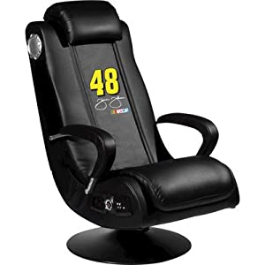 NASCAR Gaming Chair Driver: Jimmie Johnson 48 by XZIPIT