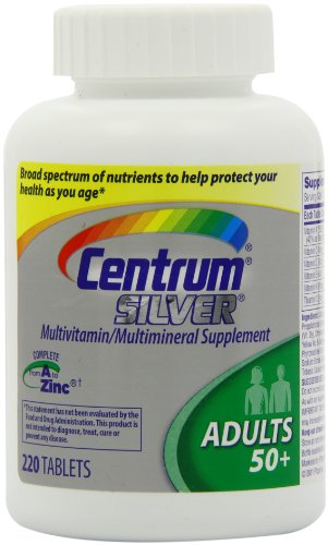 Not take Centrum silver vitamins