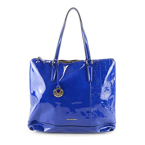 Borsa donna Benetton Shopping Grande - Mod. Geremy - Col. Blu