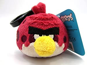 Angry birds plush backpack clip 2 big brother toys games - Angry birds big brother plush ...