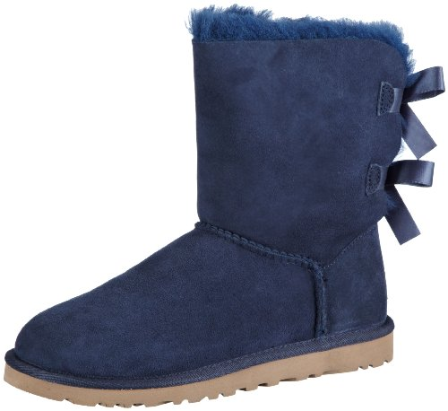 ugg-w-bailey-bow-damen-halbschaft-schlupfstiefel-blau-navy-38-eu-55-damen-uk