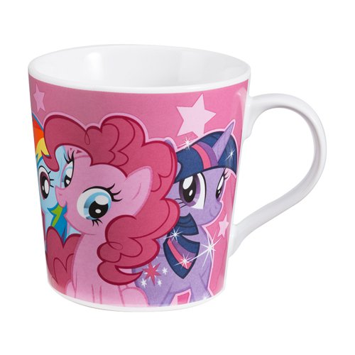 Vandor 42163 My Little Pony Ceramic Mug, 12-Ounce, Multicolored by Vandor