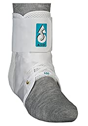 ASO Ankle Stabilizer, White, X-Large
